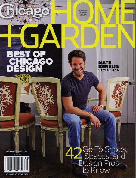 Nate Berkus Feature in Chicago Home + Garden Magazine