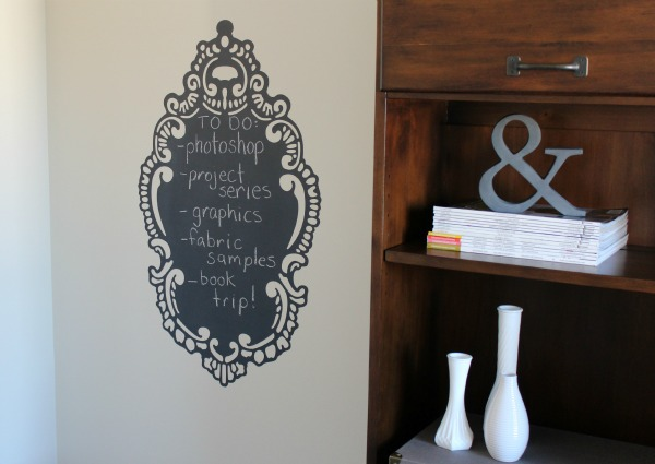 Peel and Stick Chalkboard - Wall Candy Arts
