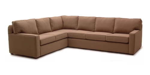 Alix Square arm sectional by Whittaker Designs