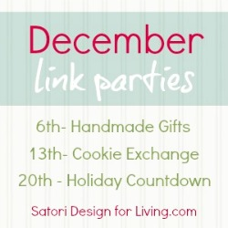Blogger Christmas Crafts, Baking and Preparations Link Parties