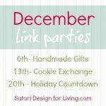 Holiday Countdown Series Recap {Week Five}