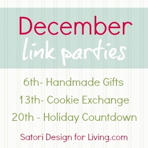 December 2012 Link Parties at Satori Design for Living