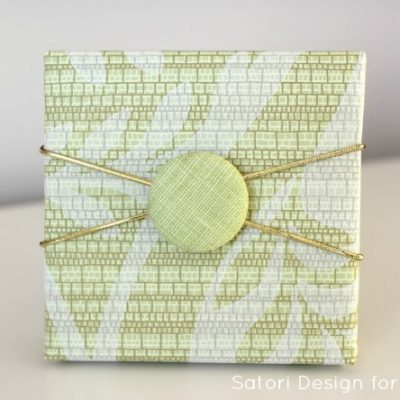 Easy Button Gift Embellishments