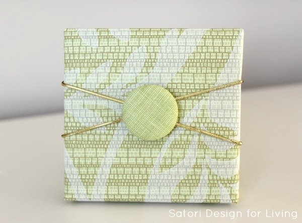 Easy Button Gift Embellishment