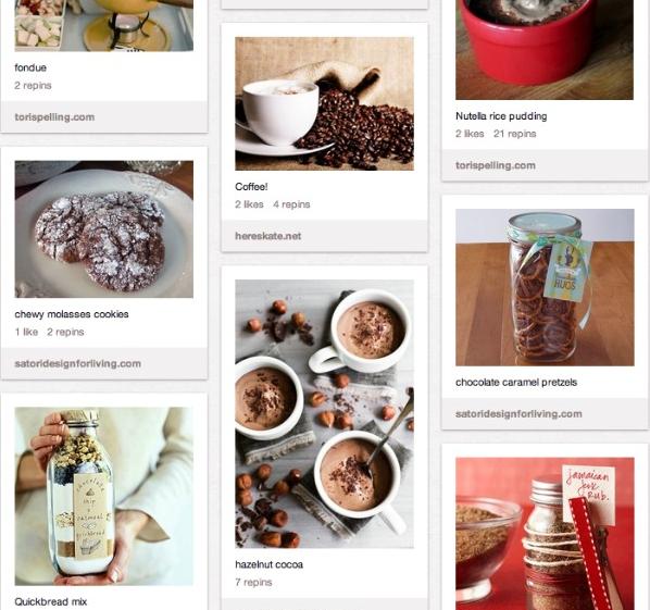Yummy Pinterest Board - Recipe Ideas for Christmas