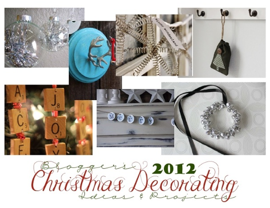 Bloggers' Christmas Decorating Ideas and Projects- Download this free e-book!