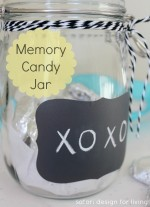 Memory Candy Jar + Handmade Gifts Link Party