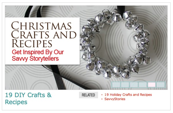Jingle Bell Ornaments by Satori Design for Living Featured on SavvyMom