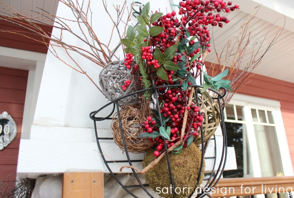 Christmas House Tour- Decorated Front Porch