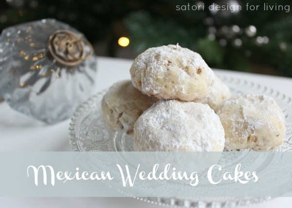 Mexican Wedding Cakes | Christmas Cookie Exchange Recipe | Satori Design for Living