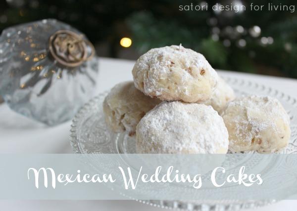 Mexican Wedding Cakes | Christmas Cookie Exchange Recipe | Satori Design for Living