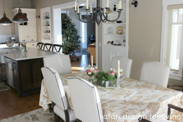 Countryside Christmas House Tour Kitchen | Satori Design for Living