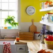 Colorful and Fun Kitchen Decor