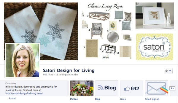Satori Design for Living on Facebook