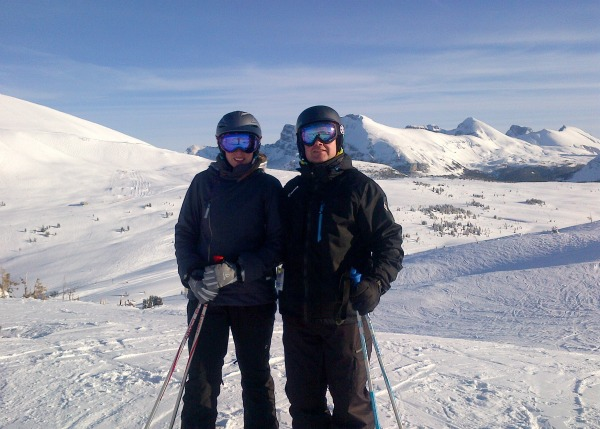 Skiing Sunshine 2013