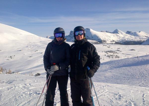 Skiing Sunshine 2013_1