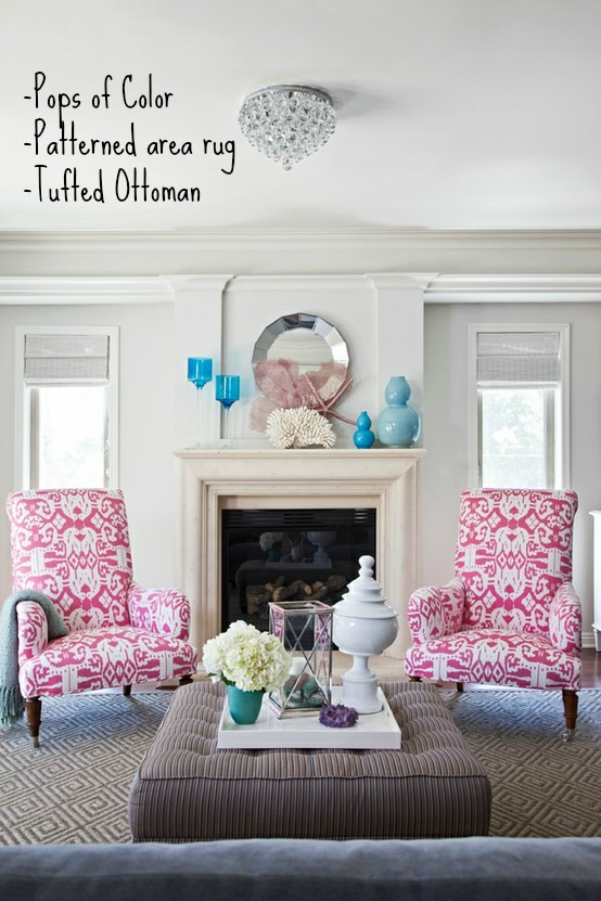 Tips for Moving Forward on a Decorating Project - Living Room by Armonia Decors