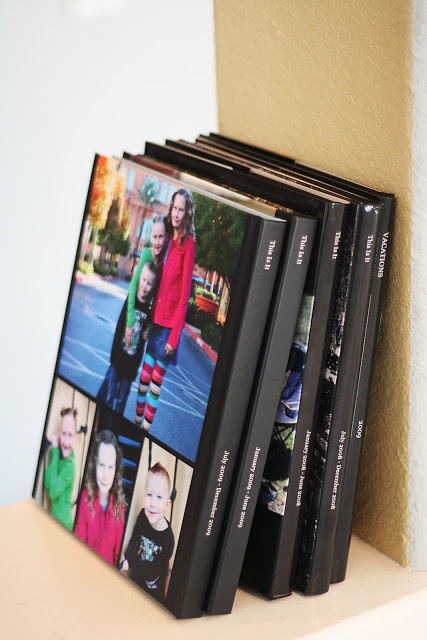 Blurb Memory Photo Books on Display - Eighteen25