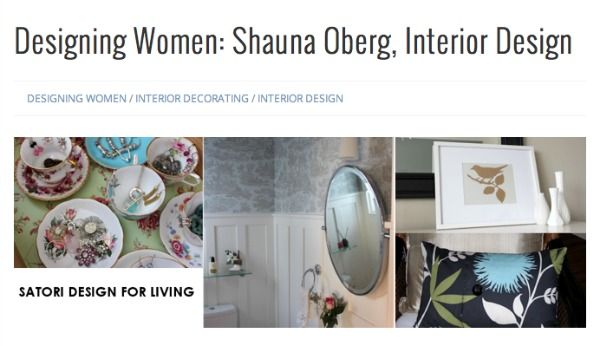 Shauna Oberg - Featured Designer at Signature Style Magazine