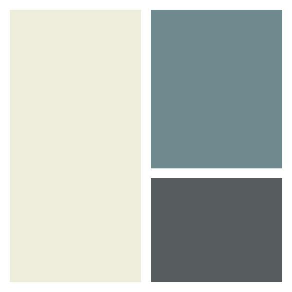 Tips for Adding Curb Appeal - New Front Door Paint Color Option 1- Benjamin Moore Flint (AF-560)