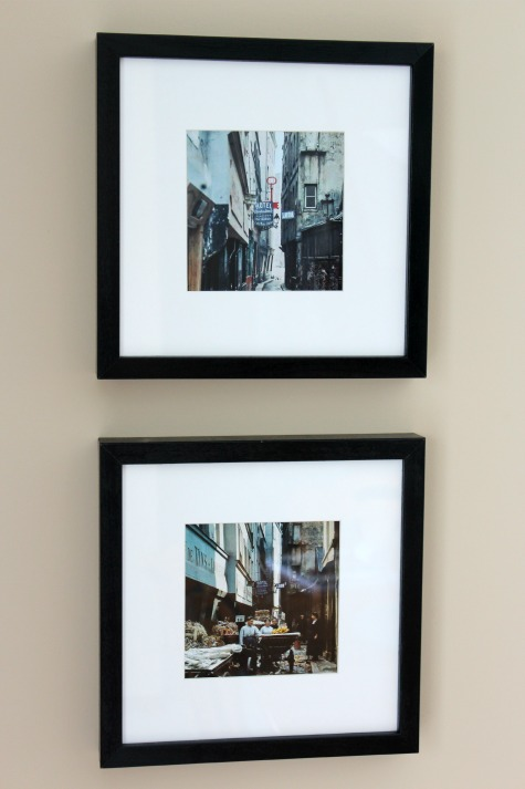 Framed Photos of Paris