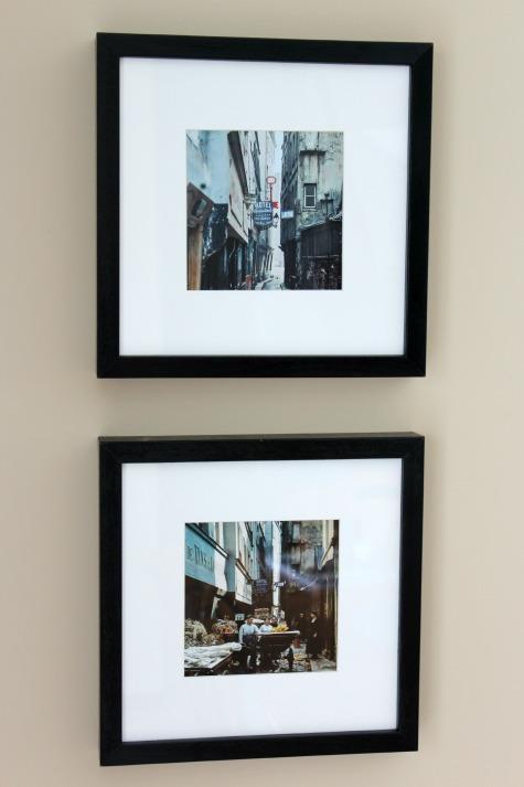 Framed Photos of Paris