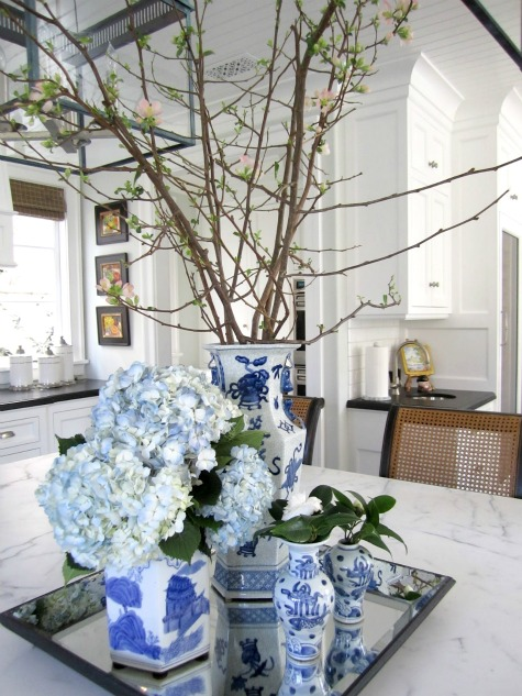 Decorating Crush - Blue and White Chinoiserie Collection via Classic Casual Home