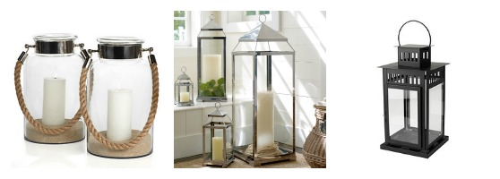 Outdoor Lantern Options - Classic