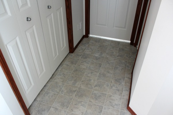 Entryway Flooring Before