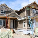 Exterior Home Under Construction - Client Project Update - Satori Design for Living