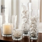 10 Ways to Decorate With Glass Cylinders