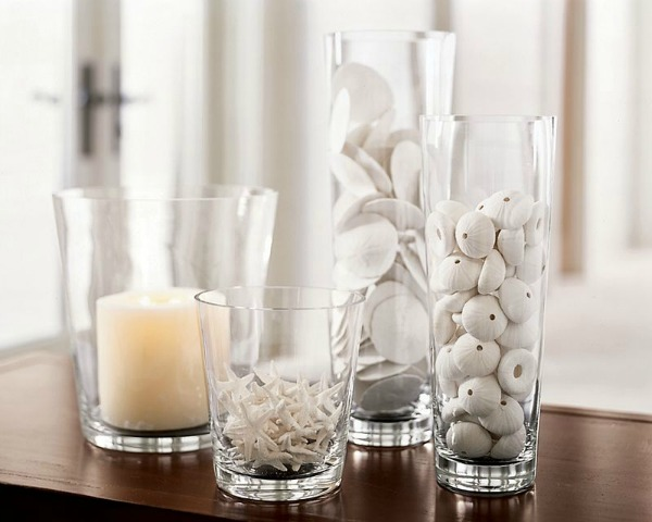 Ways to Decorate With Glass Cylinders - Vase Filler - Pottery Barn