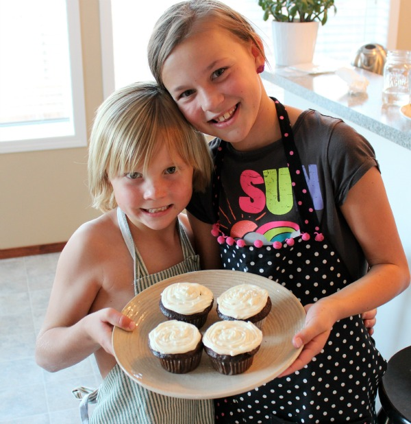 Baking with Kids - Cupcakes - Satori Design for Living