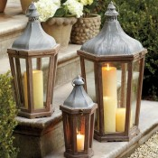 Outdoor Decorating Ideas: Lanterns