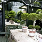 Ways to Use Mirrors in an Outdoor Space