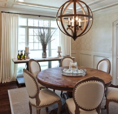 Light Fixtures for Open Concept Dining Rooms
