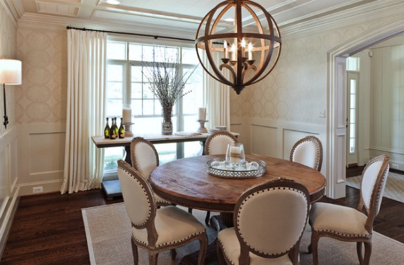 Light Fixtures for Open Concept Dining Rooms - Satori Design for ...