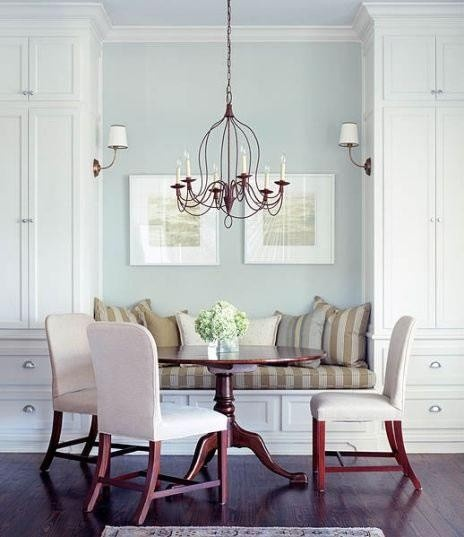 Arm Chandelier - Light Fixture for Open Concept Dining Space - James Michael Howard