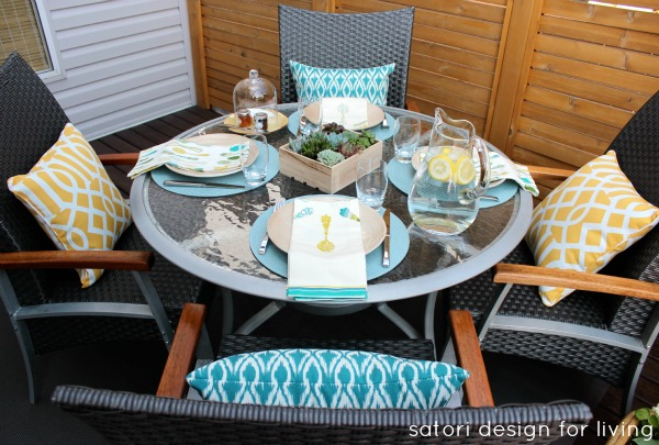 Outdoor Brunch Tablescape Satori Design For Living