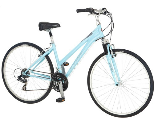 Women's Hybrid Powder Blue Bike