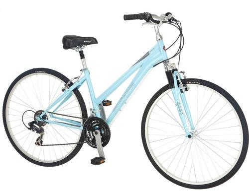 Women's Hybrid Powder Blue Bike