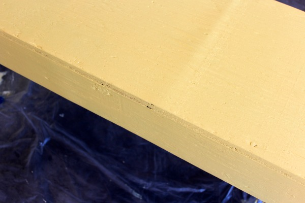 Yellow Bench Makeover - DIY Outdoor Paint Project - Golden Honey - Satori Design for Living