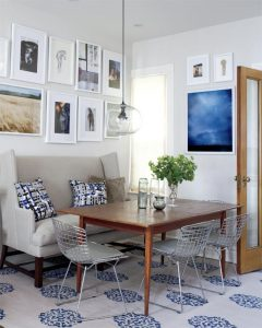 Modern Country Dining Room - Eclectic Mix - Erin McLaughlin via Style at Home | Photo by Virginia Macdonald