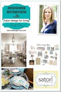 Designer Interview with Satori Design for Living from Setting for Four