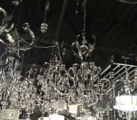 Dining Room Glass Chandelier