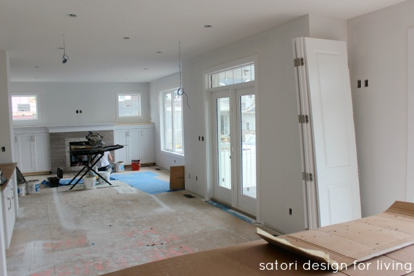 Design Project - Great Room Under Construction