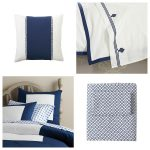 Blue and White Bedding {Friday's Fab Find}