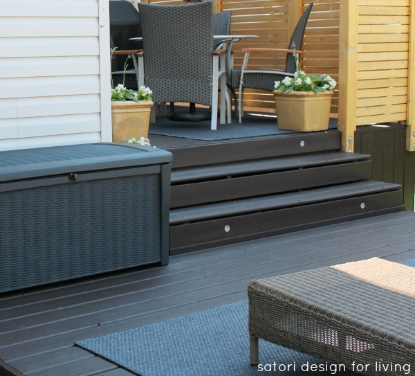 Cordovan Brown Deck - Stain by Behr Premium - Natural Cedar Privacy Screen