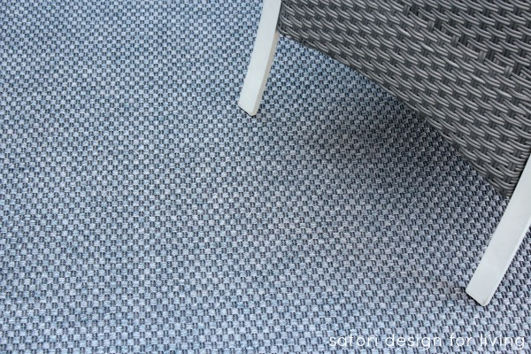 Backyard Updates - Ikea Morum Indoor Outdoor Rug - Satori Design for Living