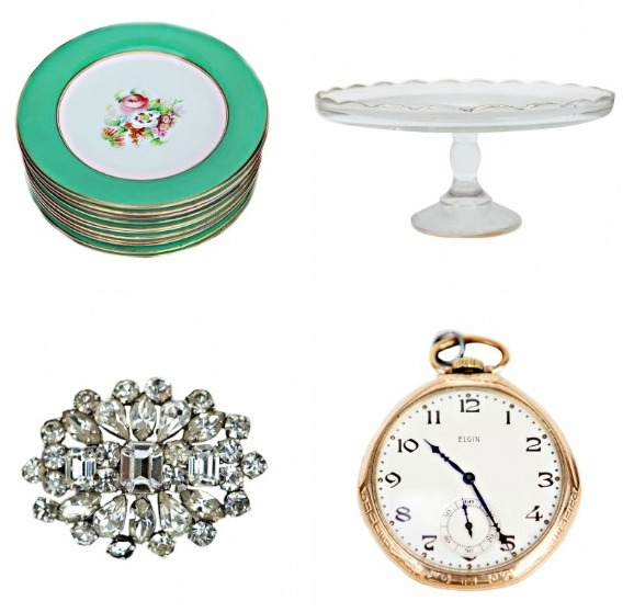 Vintage Wedding Inspired Items - Charlie Ford